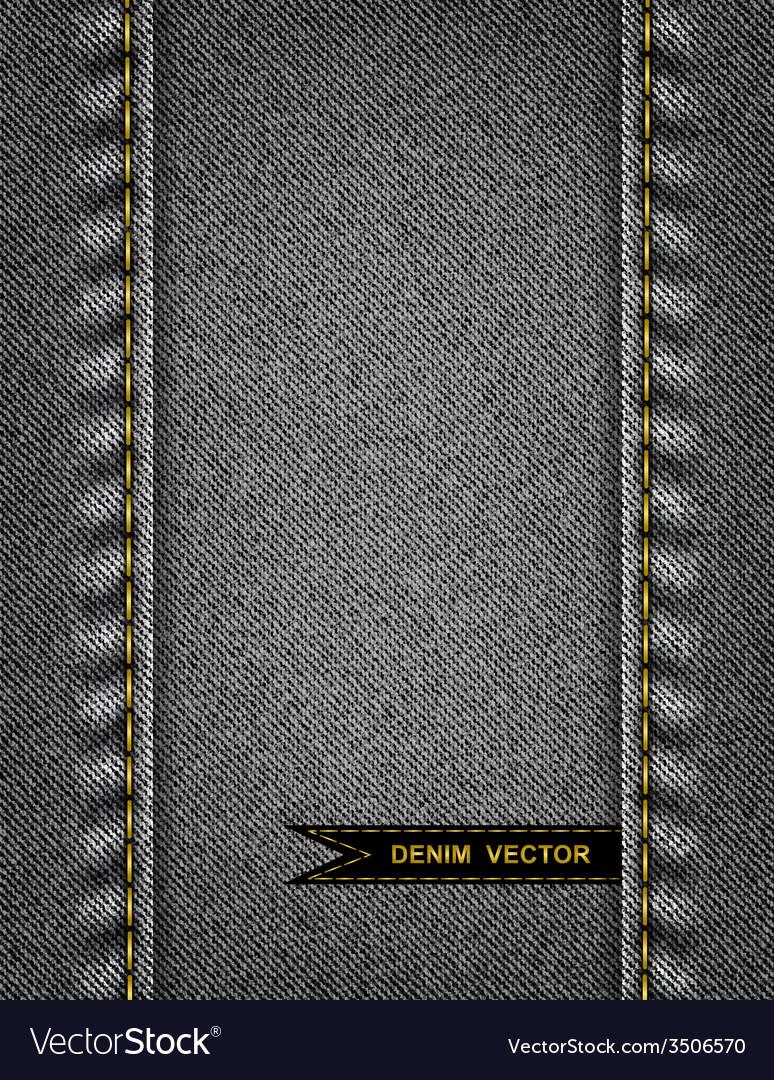 Denim background vector | Price: 1 Credit (USD $1)