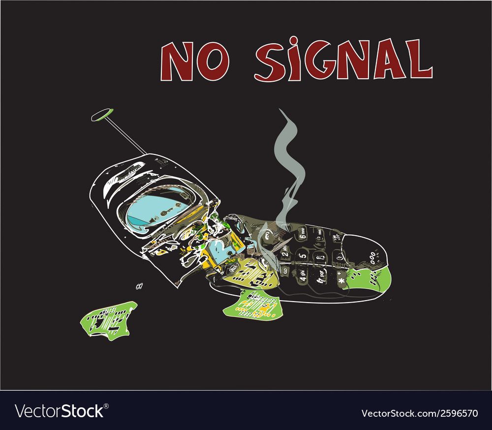 No signal vector | Price: 1 Credit (USD $1)