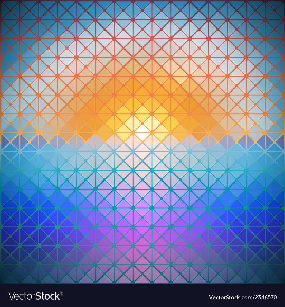 Triangular background of dawn vector | Price: 1 Credit (USD $1)