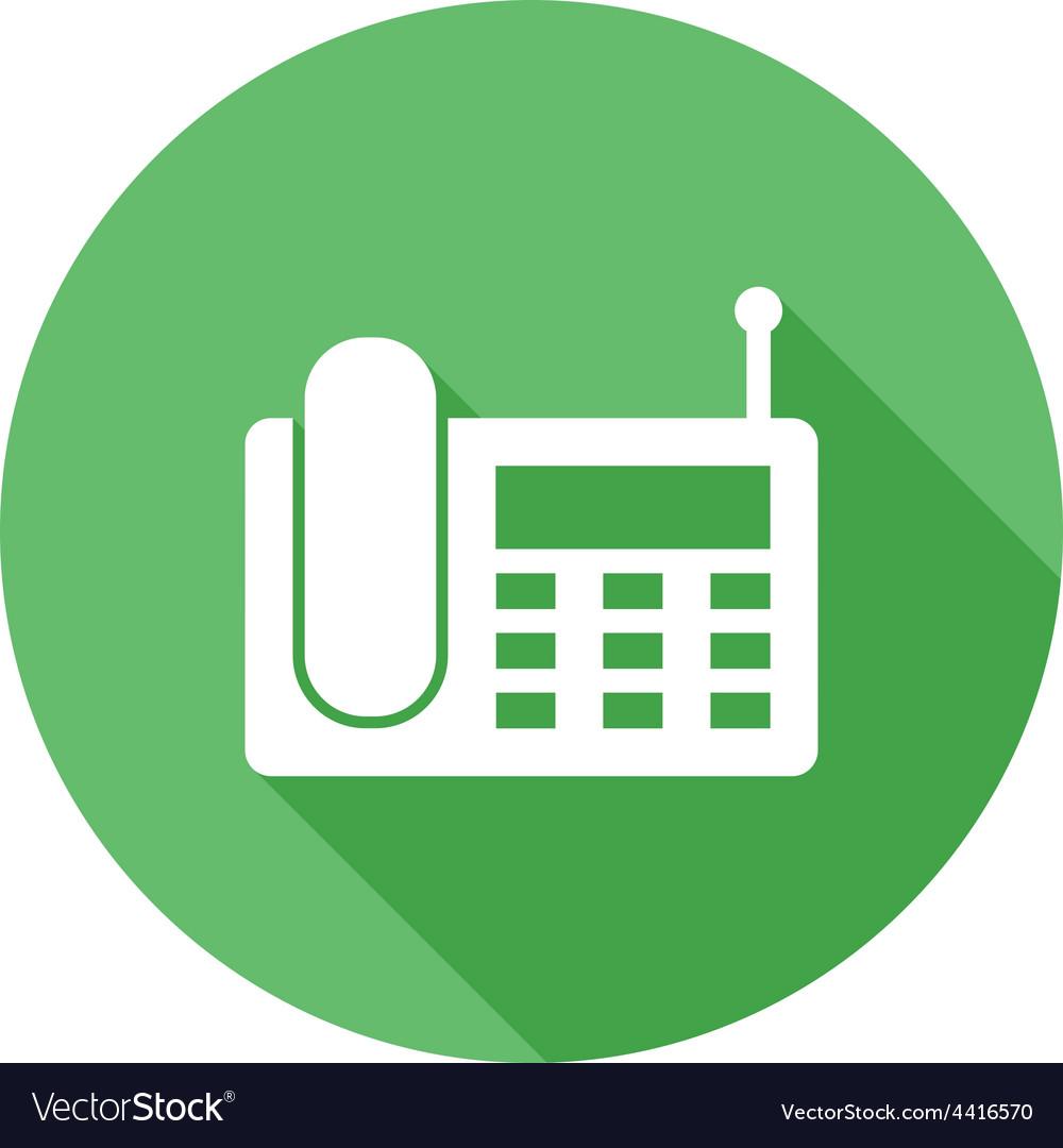 Wireless landline phone vector | Price: 1 Credit (USD $1)
