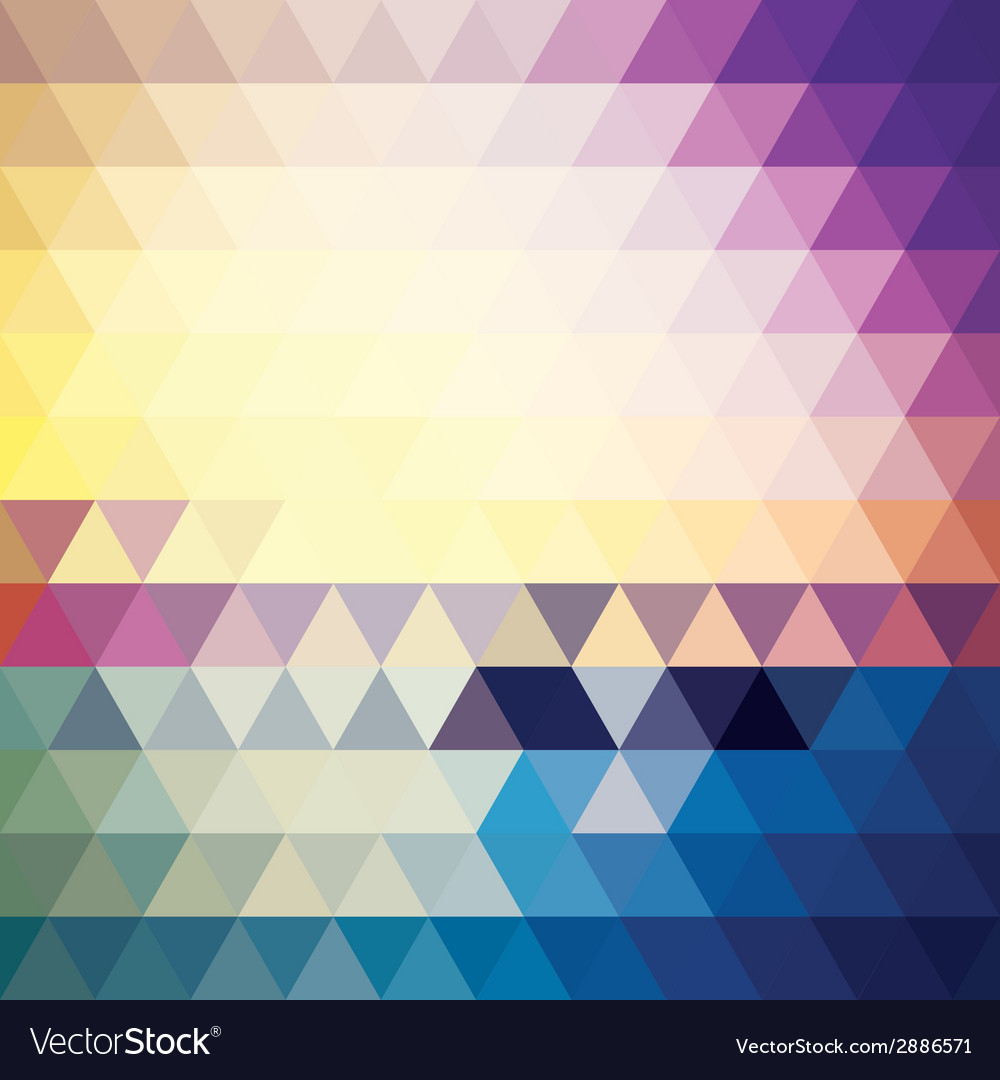 Abstract geometric colorful background pattern vector   Price: 1 Credit (USD $1)