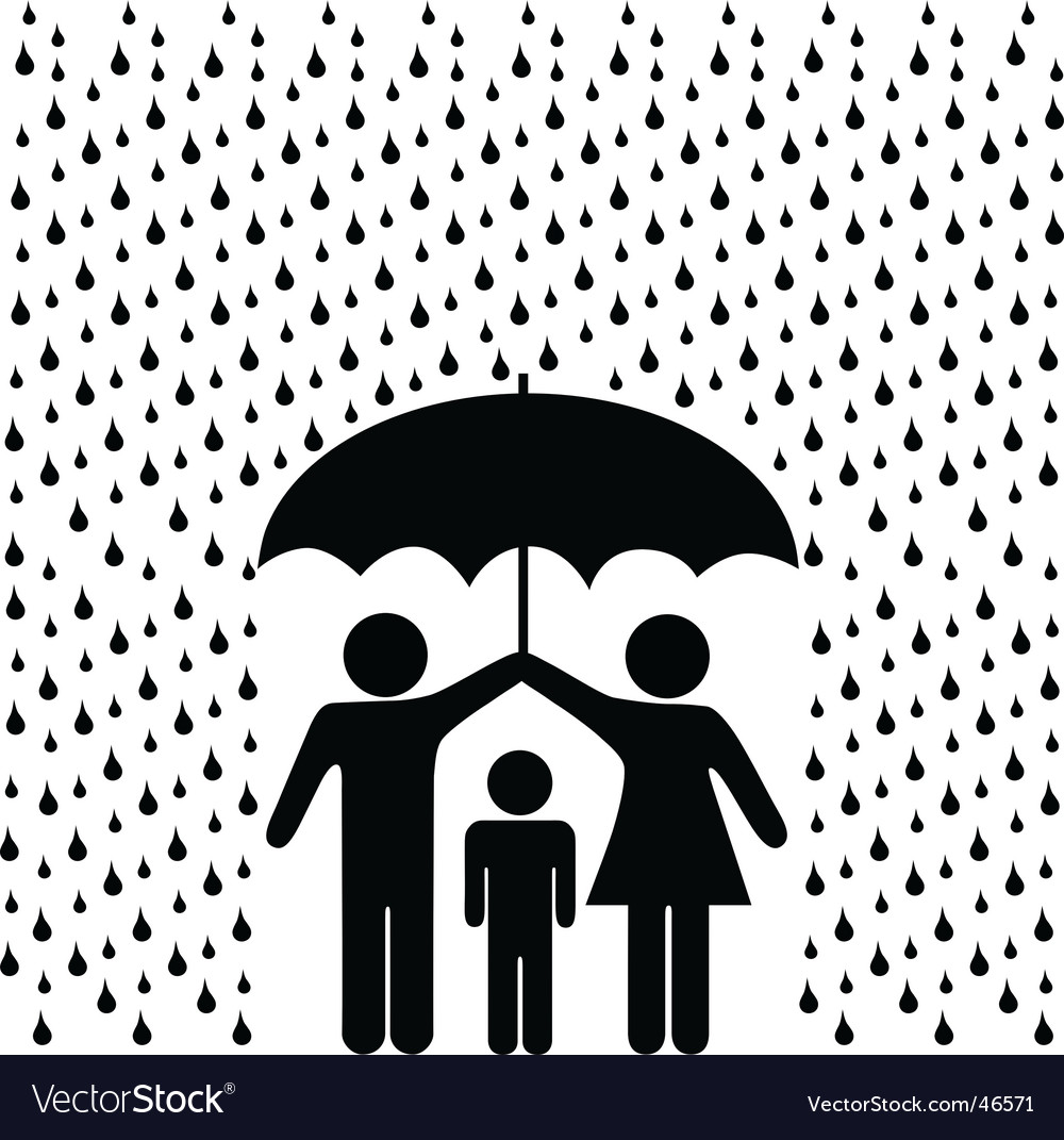 Family protection vector | Price: 1 Credit (USD $1)