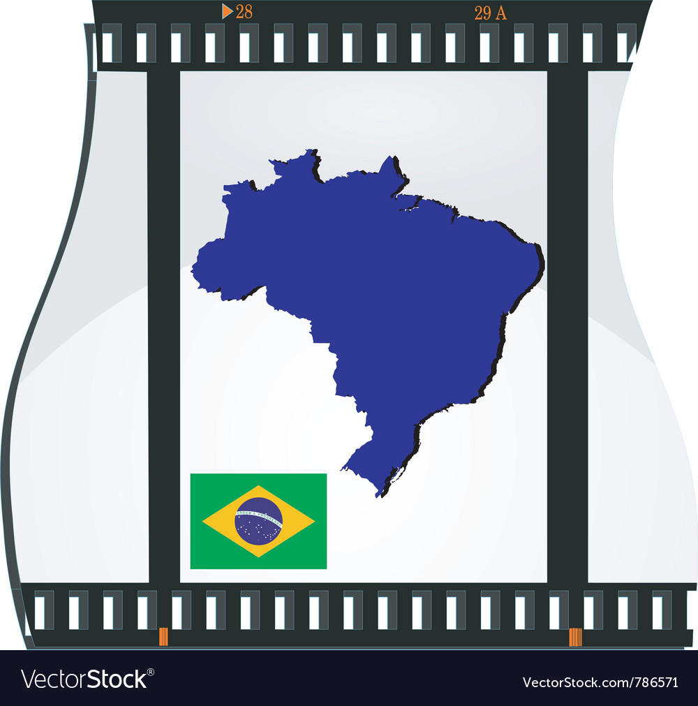 Film shots brazil vector | Price: 3 Credit (USD $3)