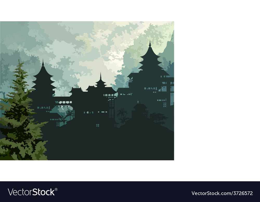 Background china vector | Price: 3 Credit (USD $3)