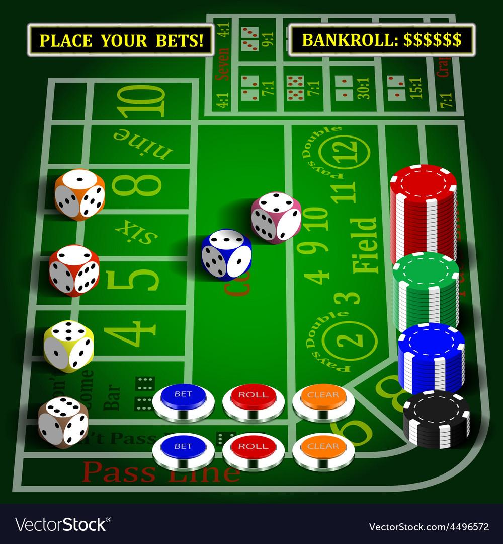 Casino dice game set vector   Price: 3 Credit (USD $3)