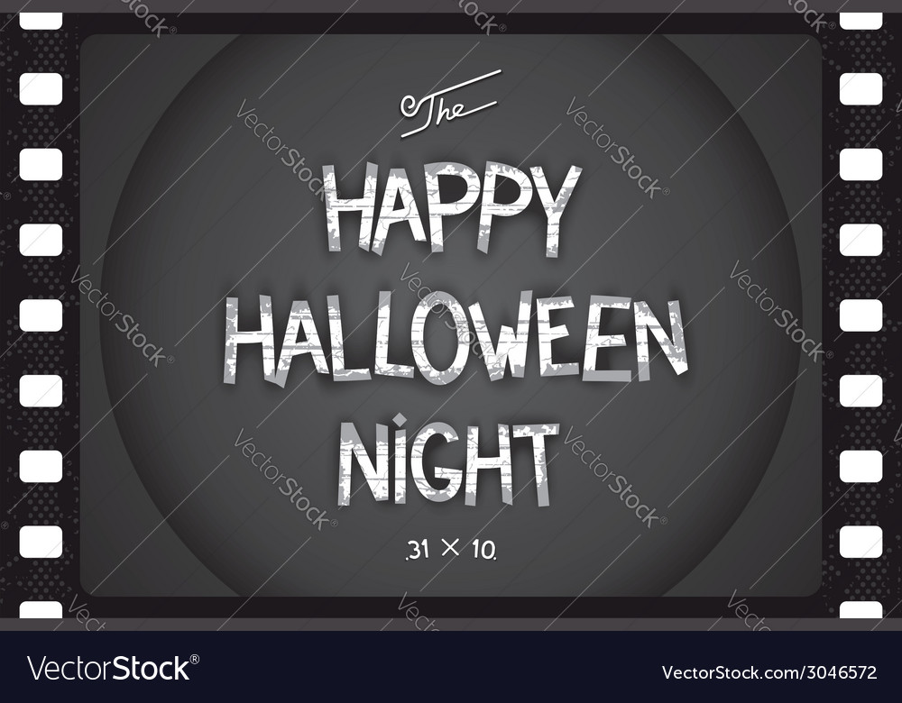 Just halloween poster vector | Price: 1 Credit (USD $1)