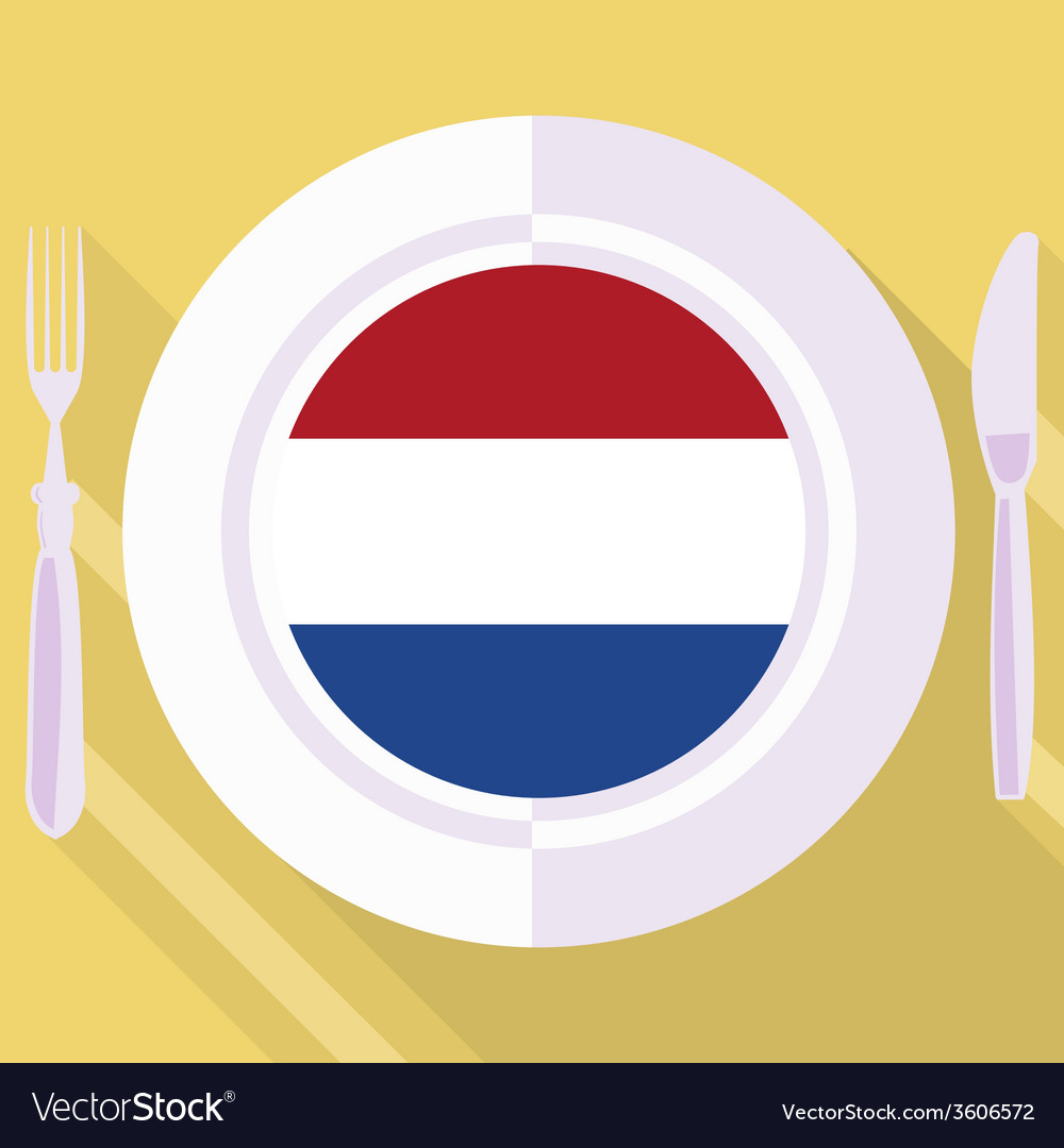 Kitchen of netherlands vector | Price: 1 Credit (USD $1)