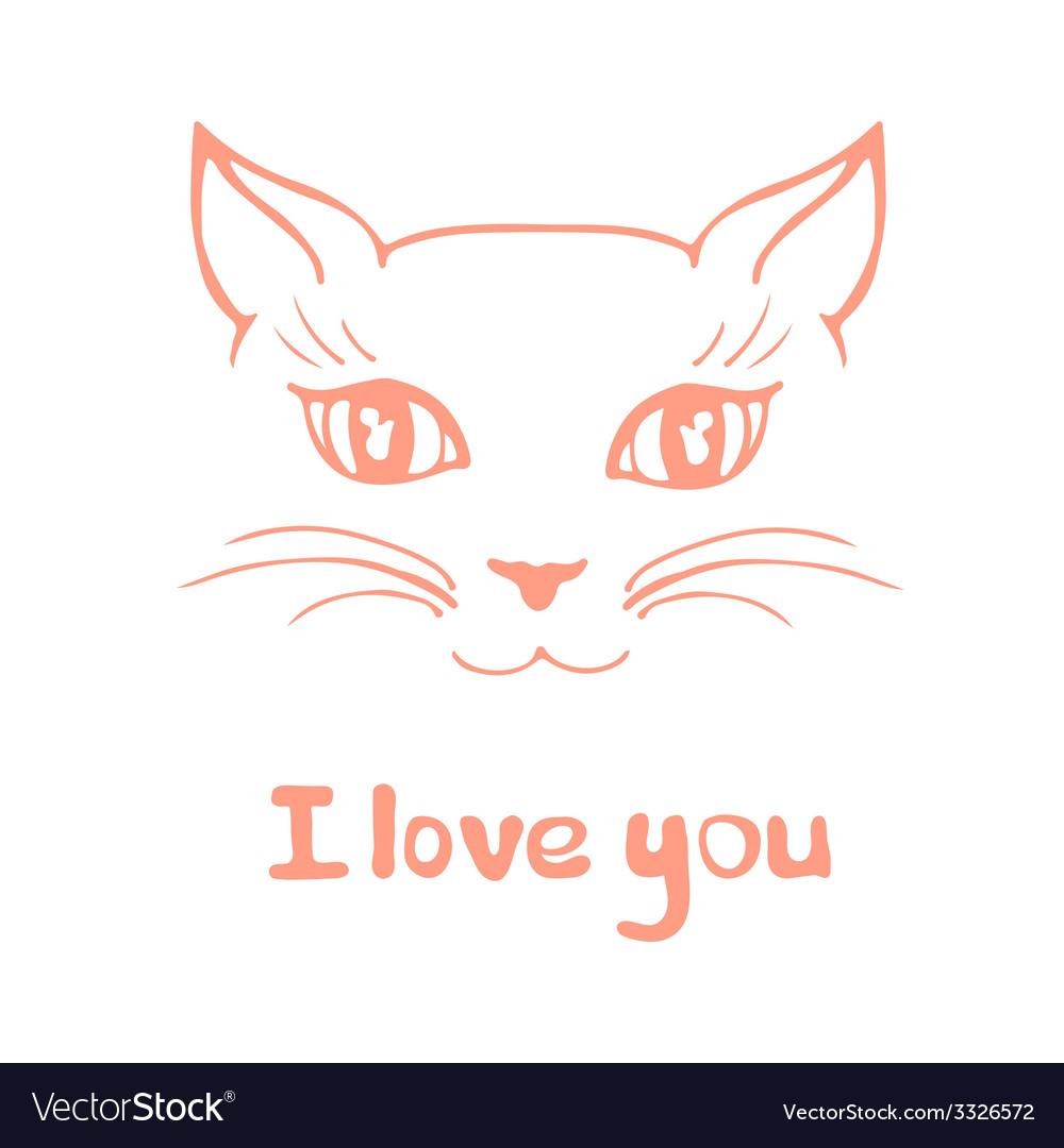 Kittycat2 vector | Price: 1 Credit (USD $1)
