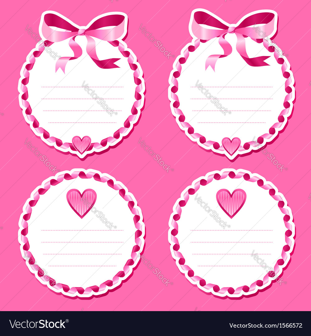 Valentine stickers vector | Price: 1 Credit (USD $1)