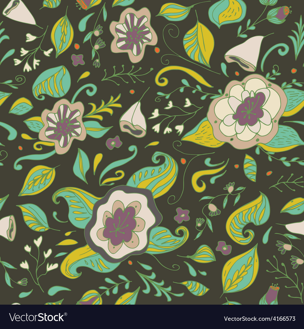 Abstract elegance seamless floral pattern on a vector   Price: 1 Credit (USD $1)