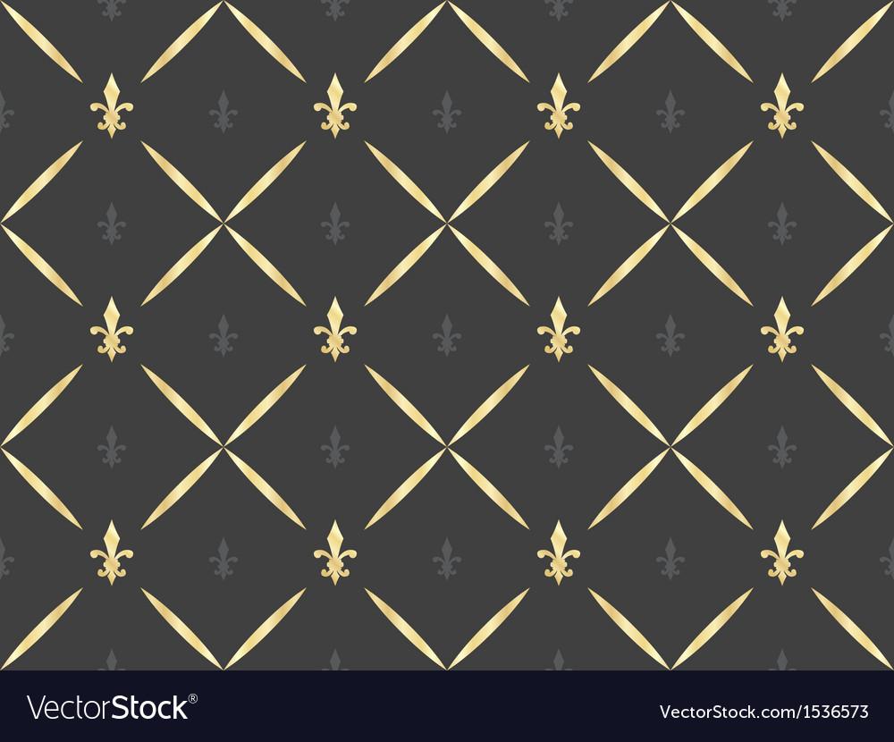 Black seamless pattern vector | Price: 1 Credit (USD $1)