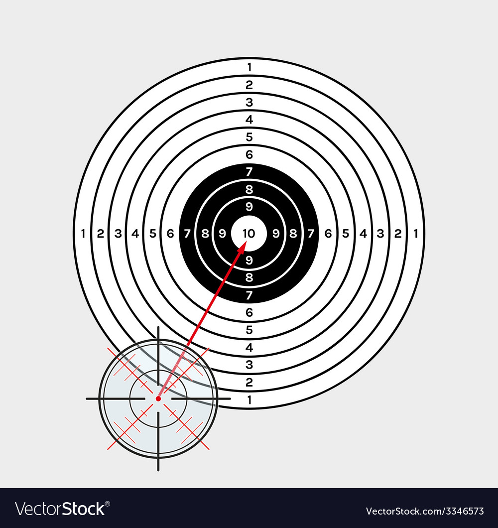 Crosshair and target vector | Price: 1 Credit (USD $1)