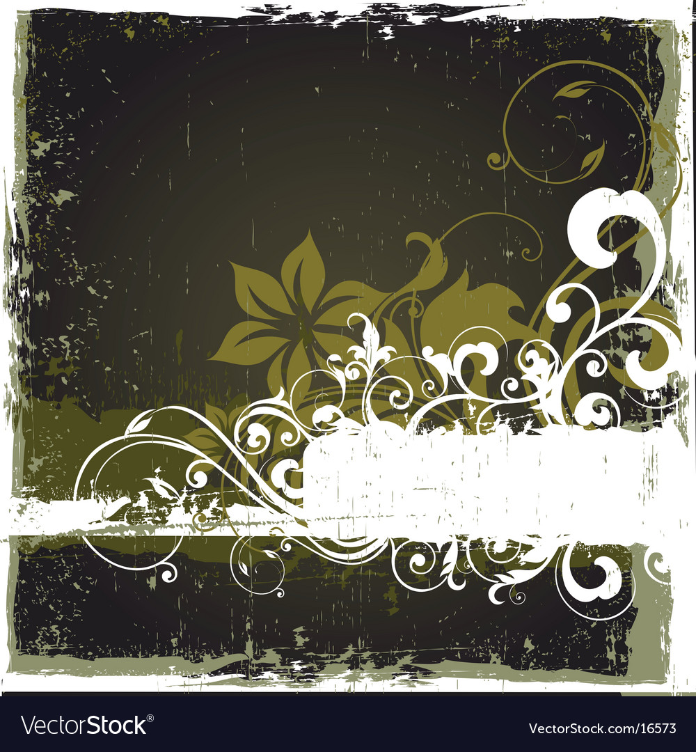 Floral graphic background vector | Price: 1 Credit (USD $1)