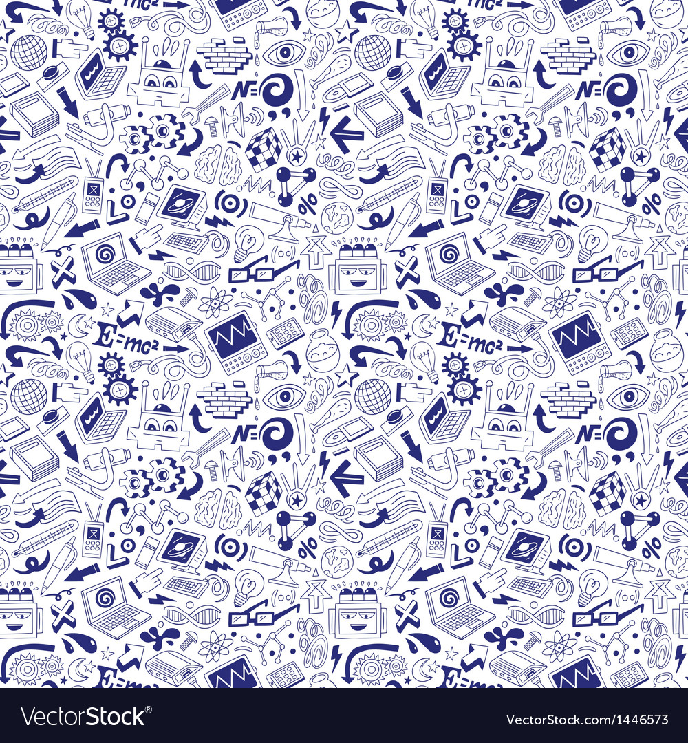 Science - doodles collection vector | Price: 1 Credit (USD $1)