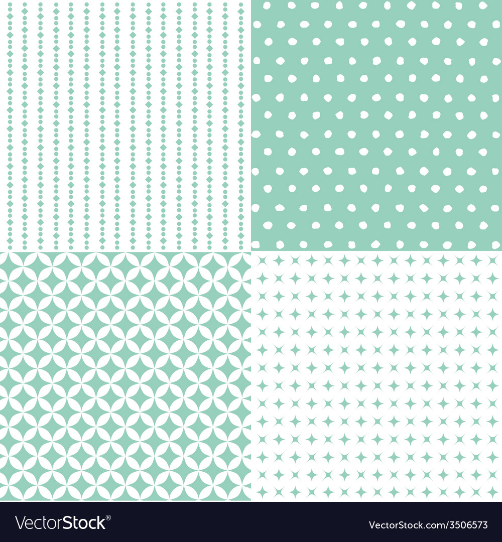Set of seamless patterns vector   Price: 1 Credit (USD $1)