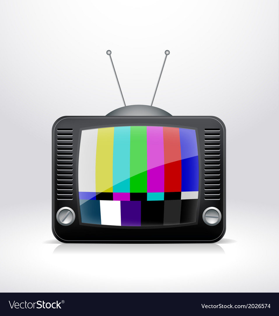 Broken tv signal vector | Price: 1 Credit (USD $1)