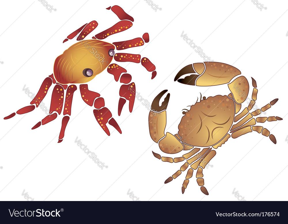 Crab vector | Price: 1 Credit (USD $1)