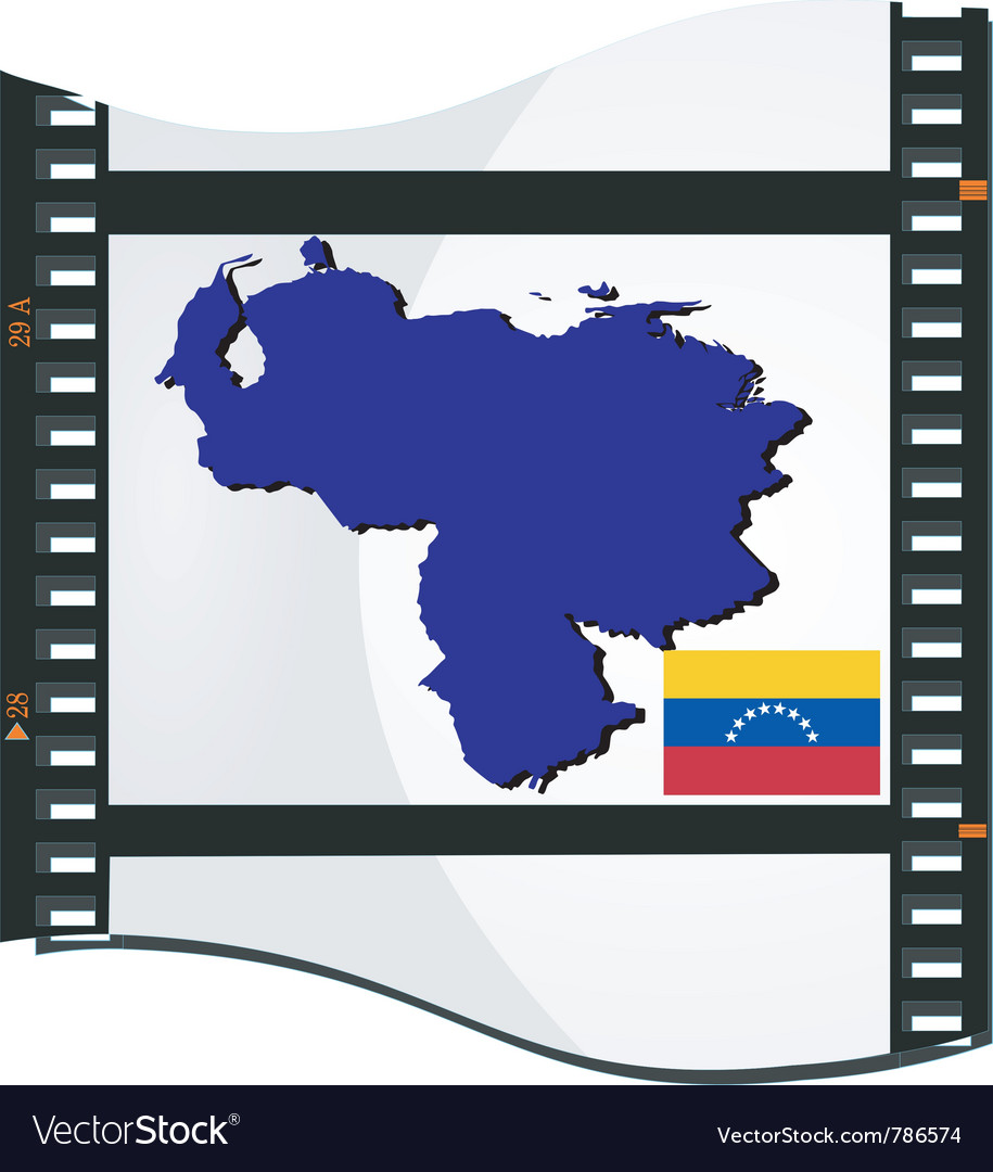 Film shots venezuela vector | Price: 3 Credit (USD $3)