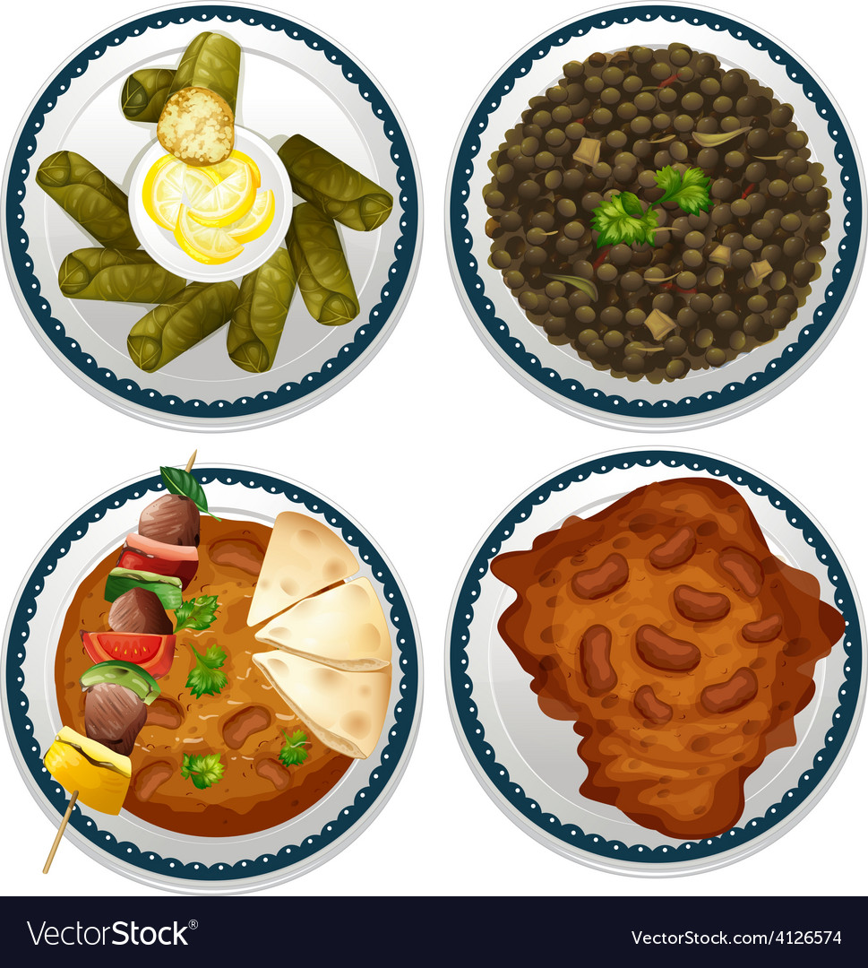 Indian food vector | Price: 3 Credit (USD $3)