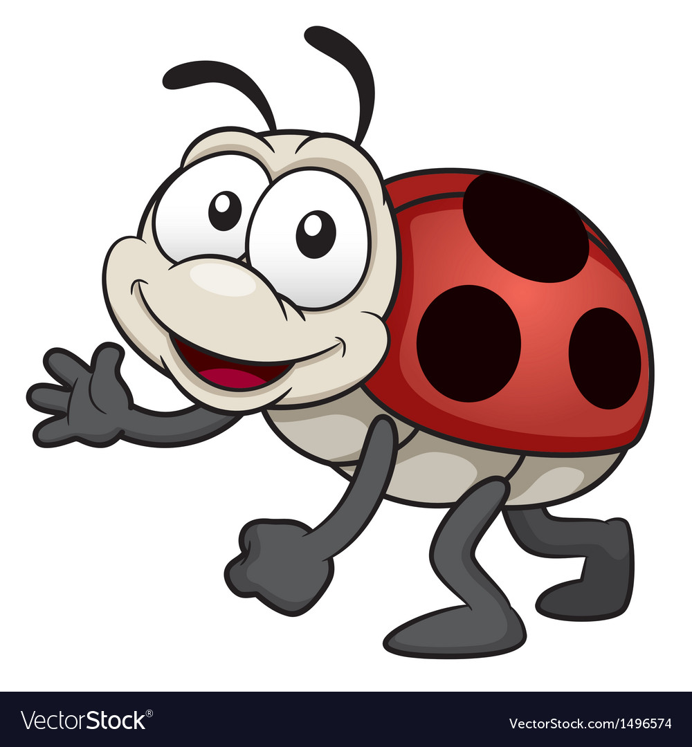 Lady bug vector | Price: 1 Credit (USD $1)