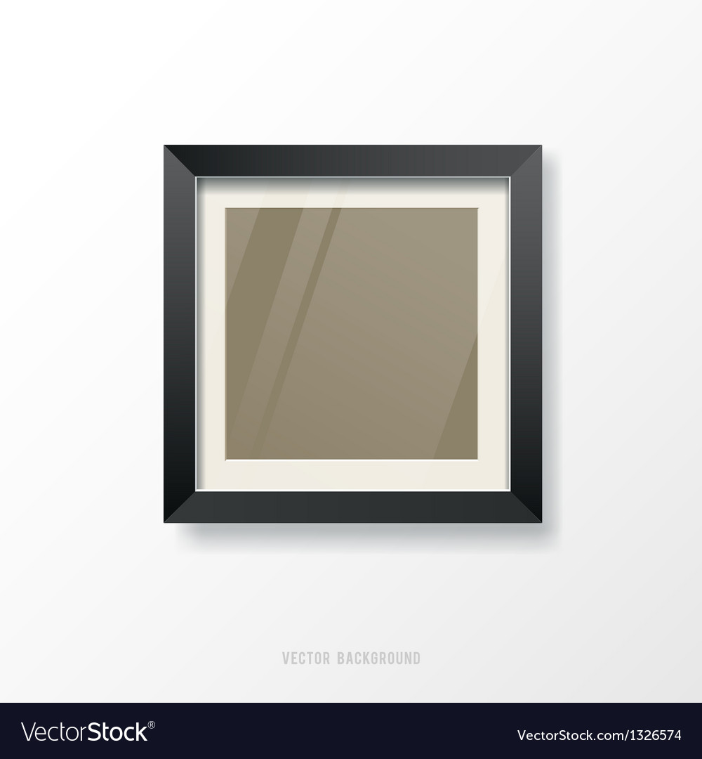 Modern black frame vector | Price: 1 Credit (USD $1)