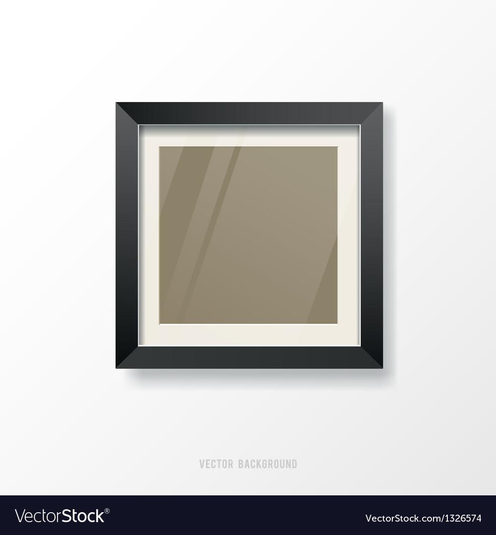 Modern black frame vector | Price: 1 Credit (USD $1)