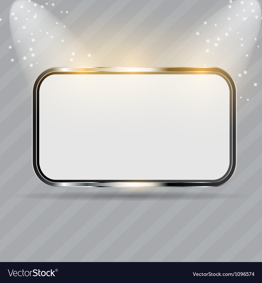Realistic glass frames vector | Price: 1 Credit (USD $1)