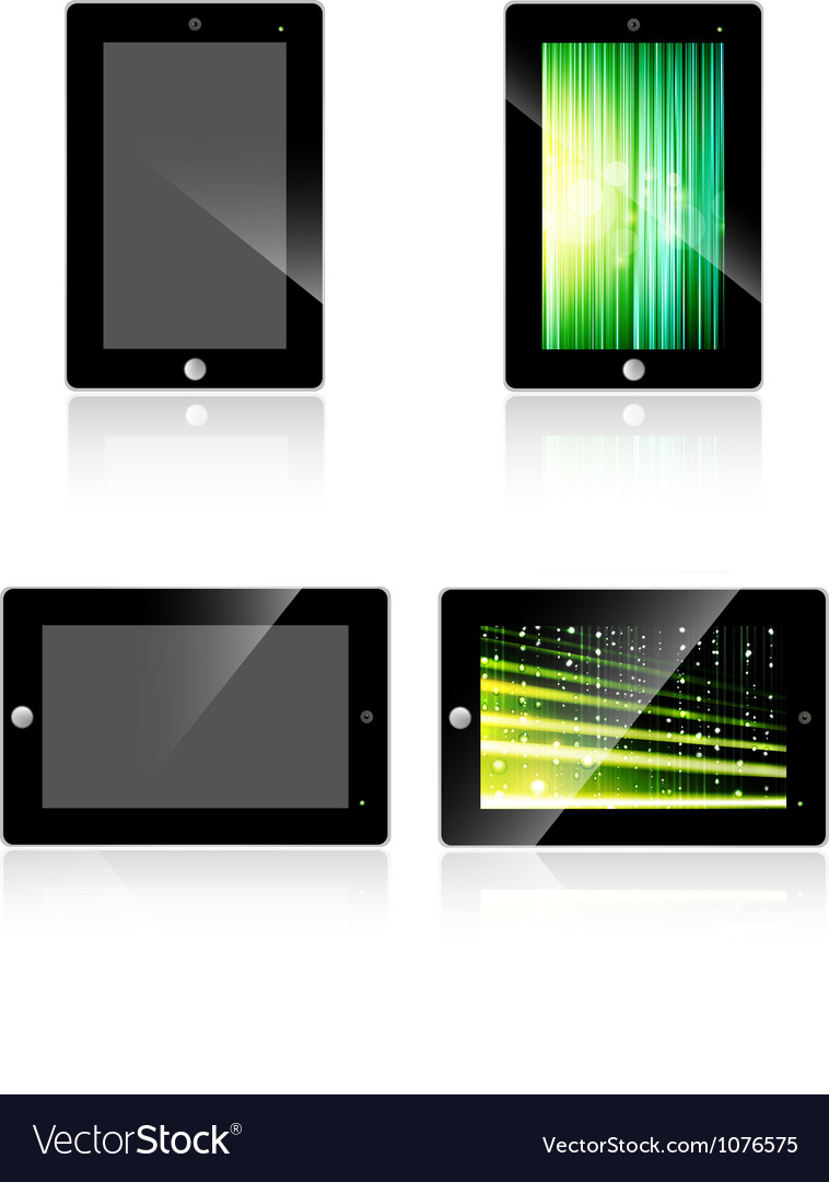 Abstract tablet vector | Price: 1 Credit (USD $1)
