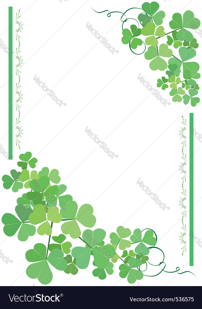 green and white floral card vector | Price: 1 Credit (USD $1)