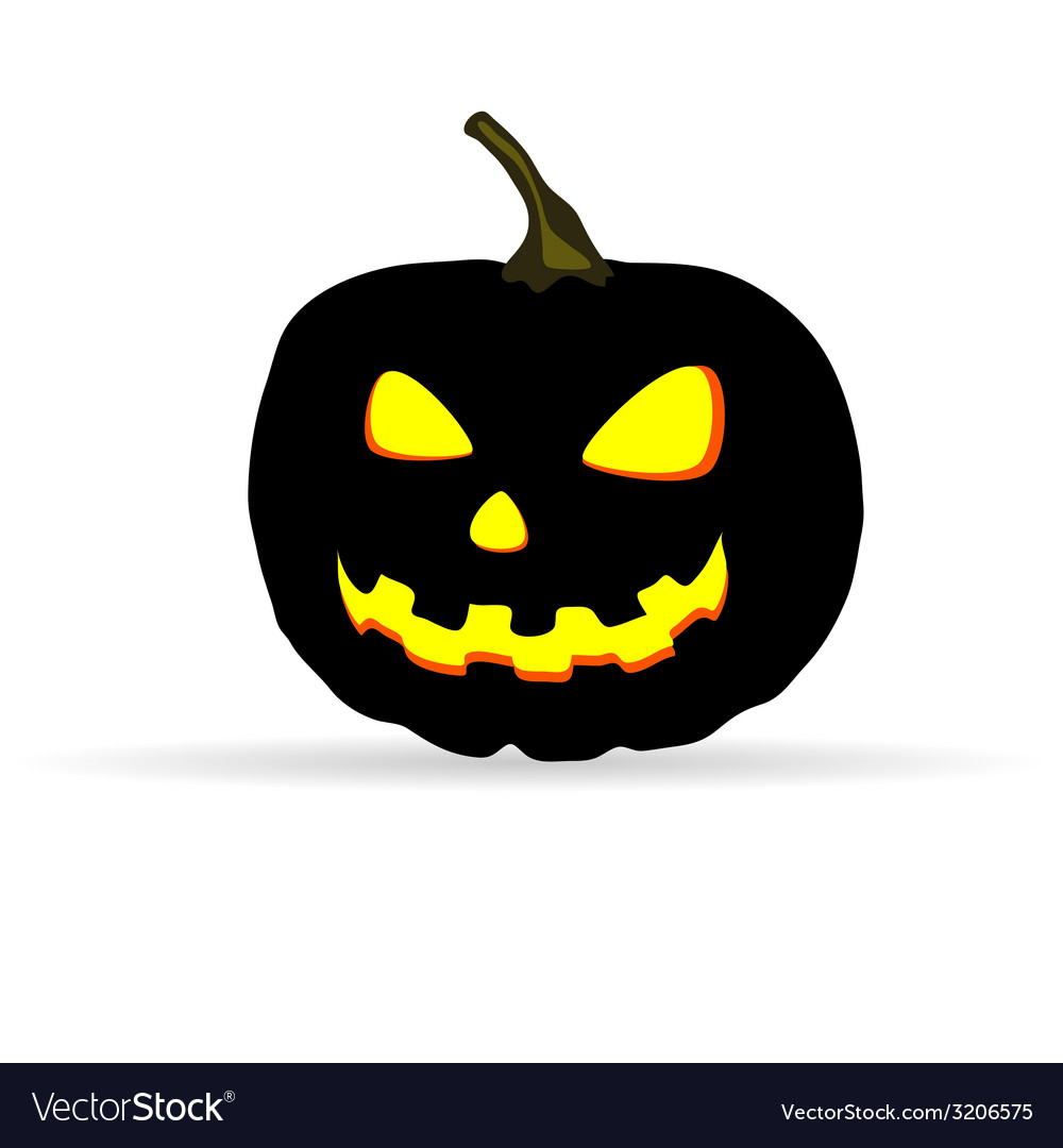 Halloween on a white background vector | Price: 1 Credit (USD $1)