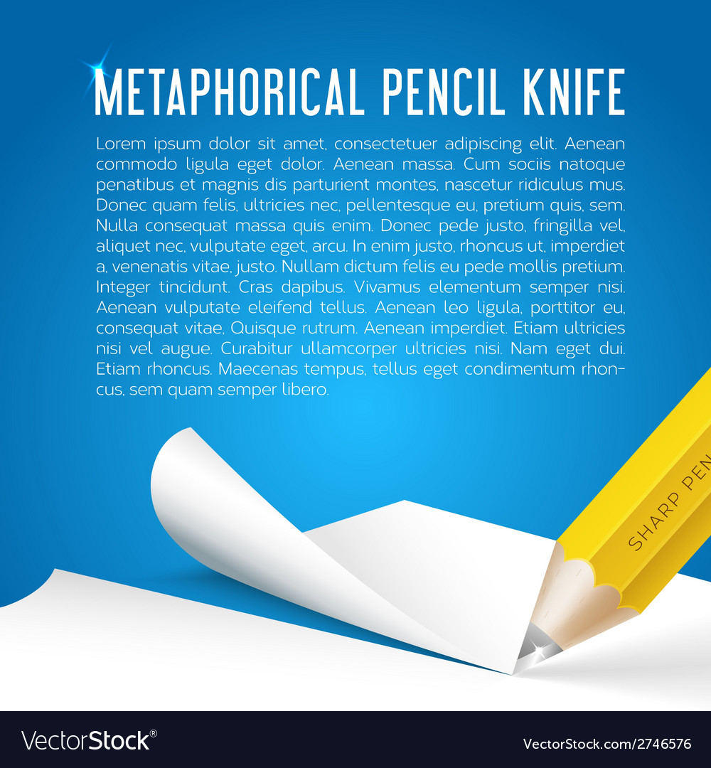 Abstract background metaphorical pencil stationary vector | Price: 1 Credit (USD $1)