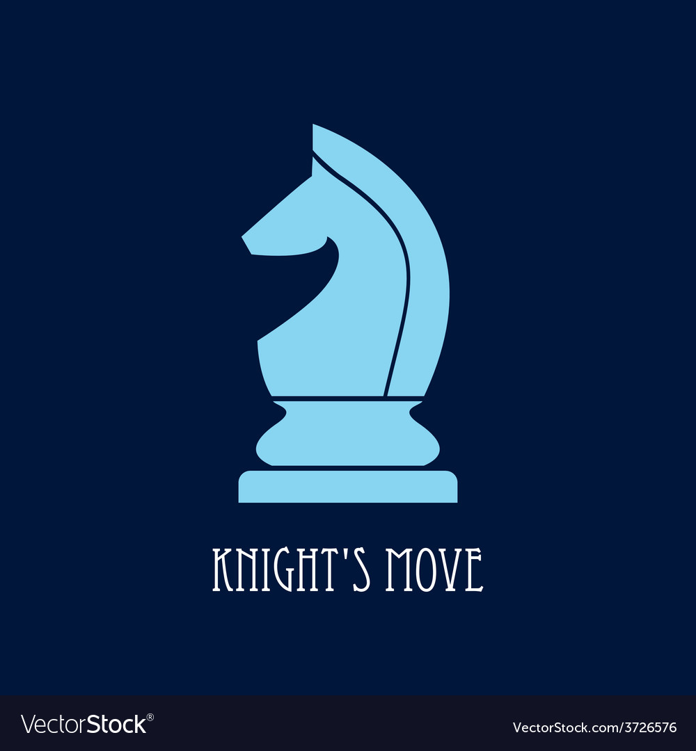 Chess knight vector | Price: 1 Credit (USD $1)
