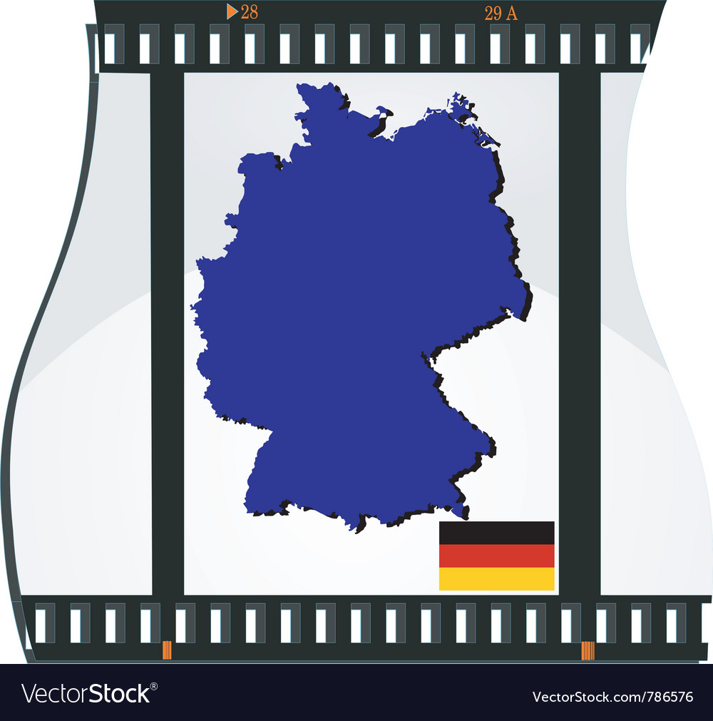 Film shots germany vector | Price: 3 Credit (USD $3)