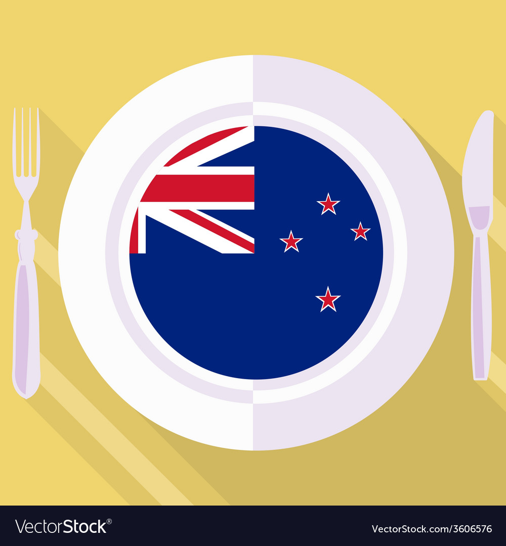 Kitchen of new zealand vector | Price: 1 Credit (USD $1)
