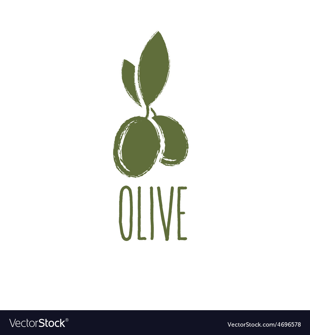 Grunge olive design template vector | Price: 1 Credit (USD $1)