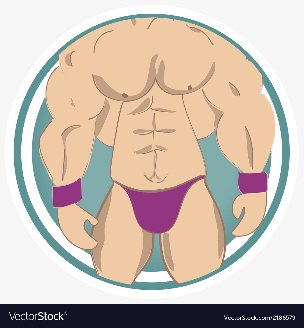 Muscles vector | Price: 1 Credit (USD $1)