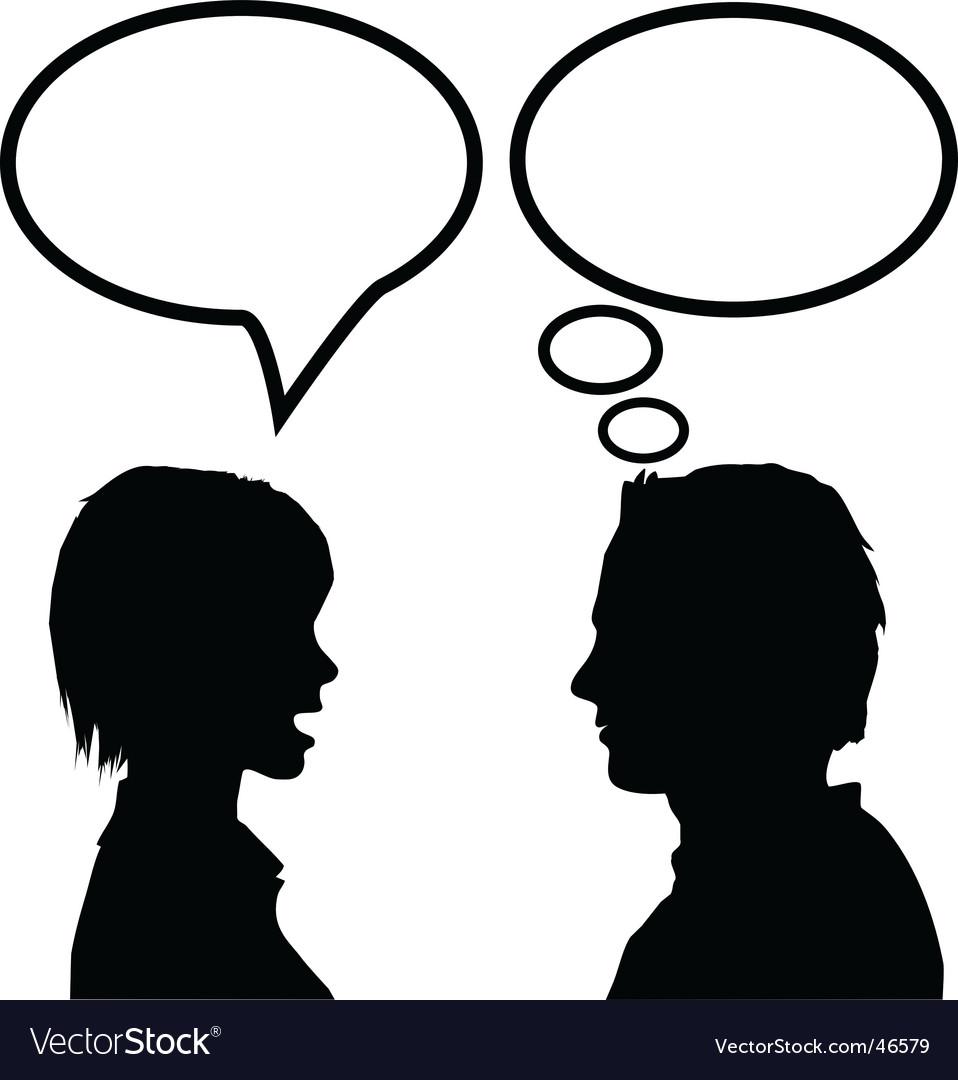 Speech communication vector | Price: 1 Credit (USD $1)