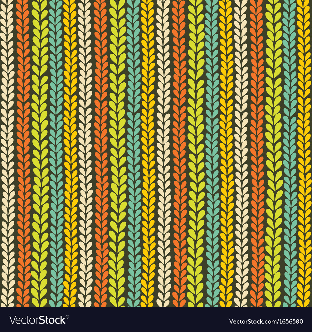 Colorful knitted background vector | Price: 1 Credit (USD $1)