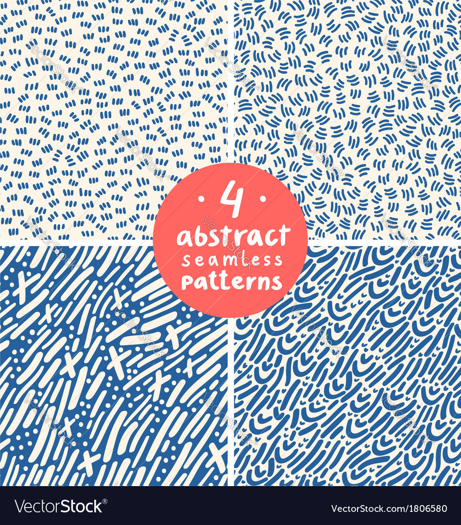Doodle abstract patterns part 4 vector | Price: 1 Credit (USD $1)