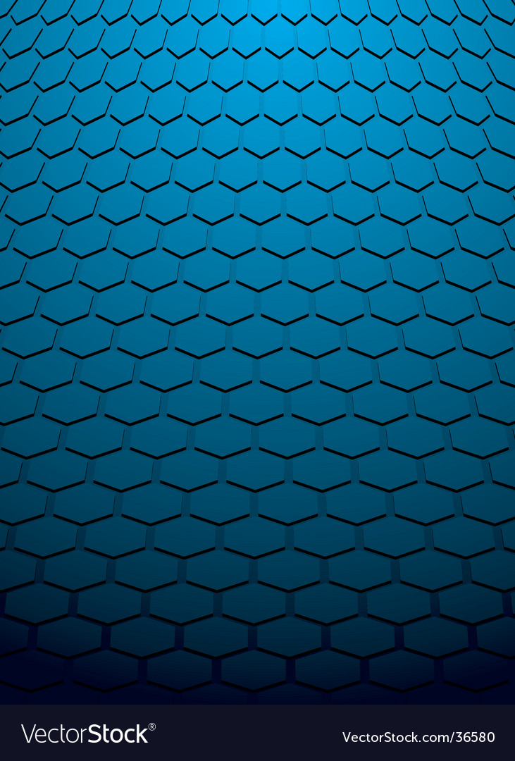 Hex background vector | Price: 1 Credit (USD $1)