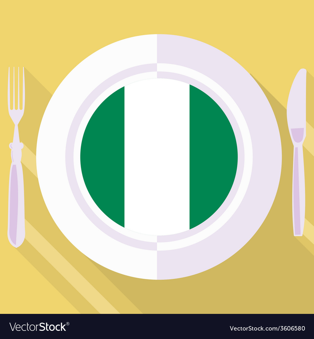 Kitchen of nigeria vector | Price: 1 Credit (USD $1)