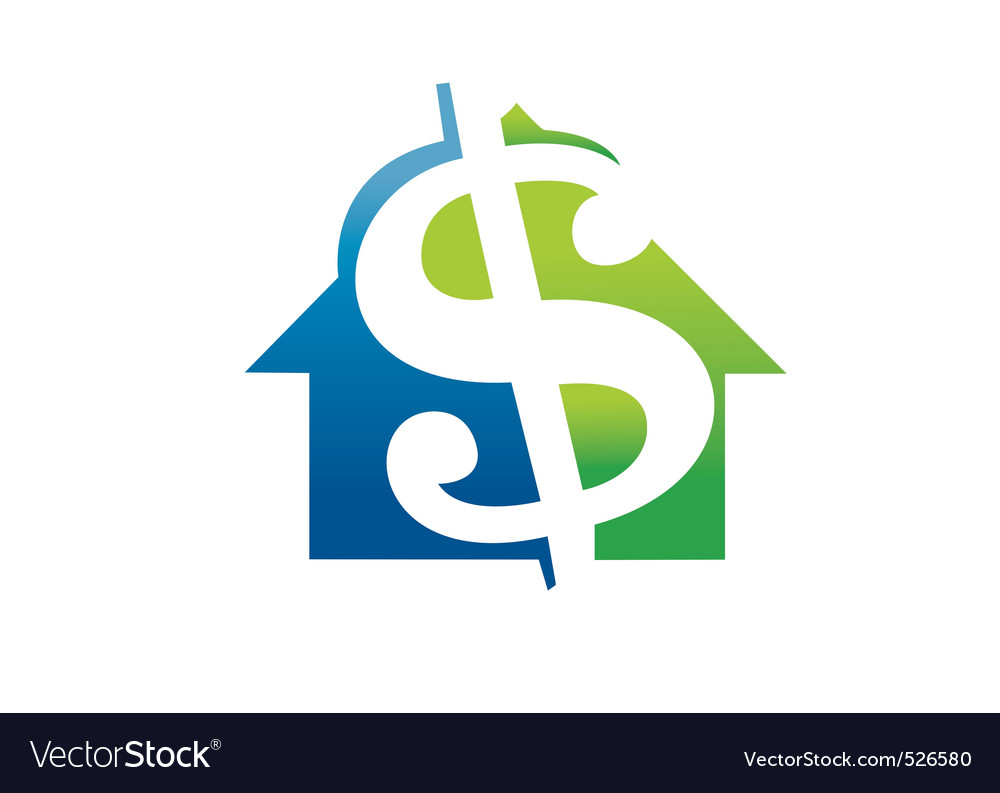 Money luxury house vector | Price: 1 Credit (USD $1)