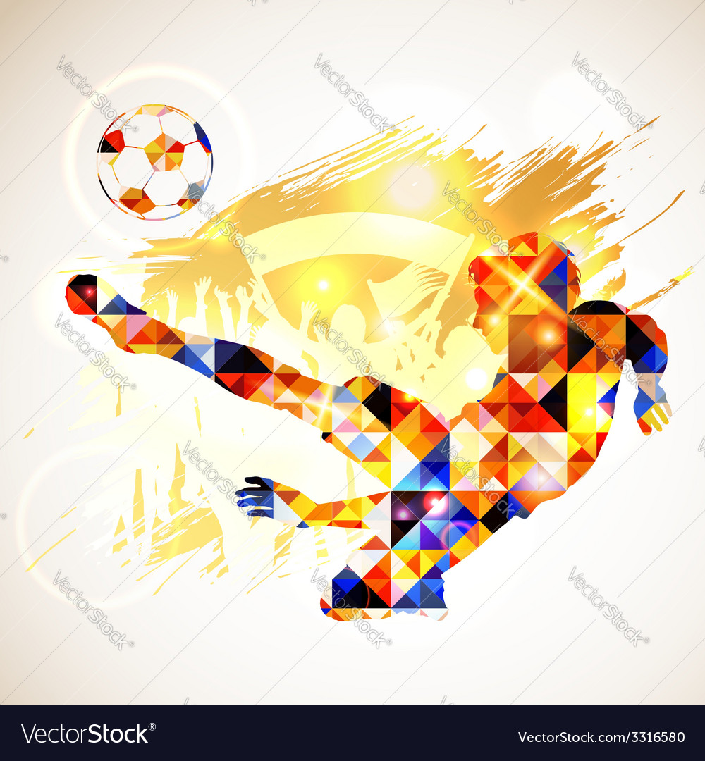 Soccer concept vector | Price: 1 Credit (USD $1)