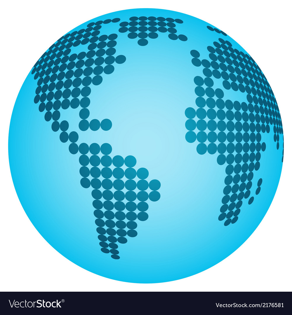 Abstract globe vector | Price: 1 Credit (USD $1)