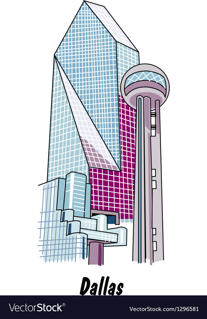 Dallas vector | Price: 1 Credit (USD $1)