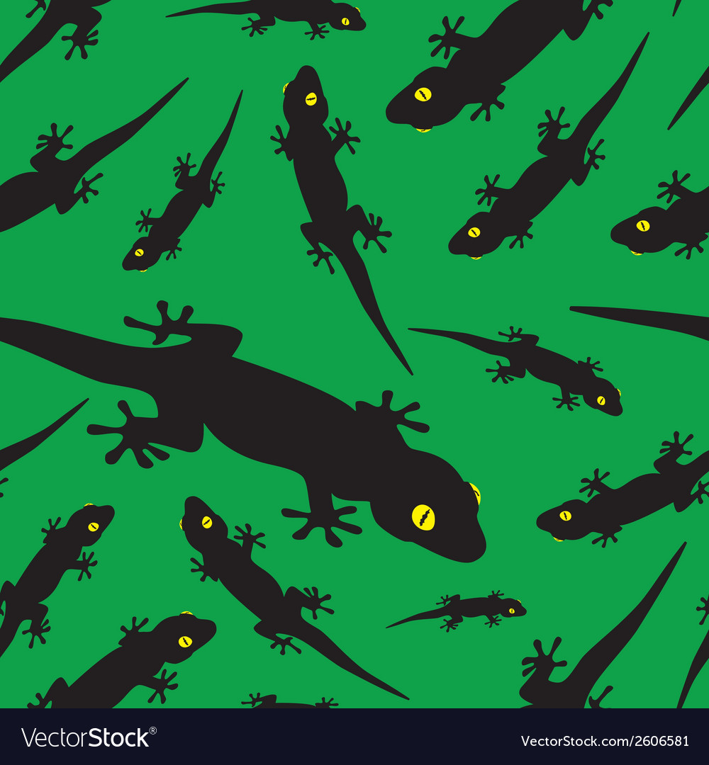 Gecko pattern eps10 vector | Price: 1 Credit (USD $1)