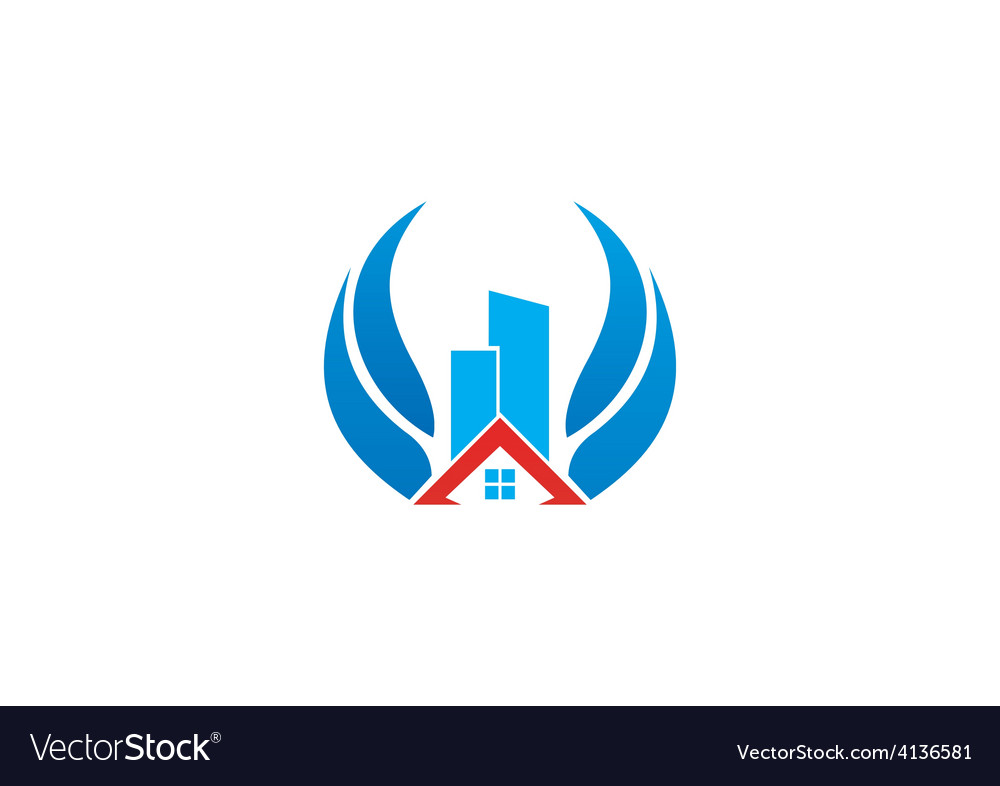Realty building abstract logo vector | Price: 1 Credit (USD $1)
