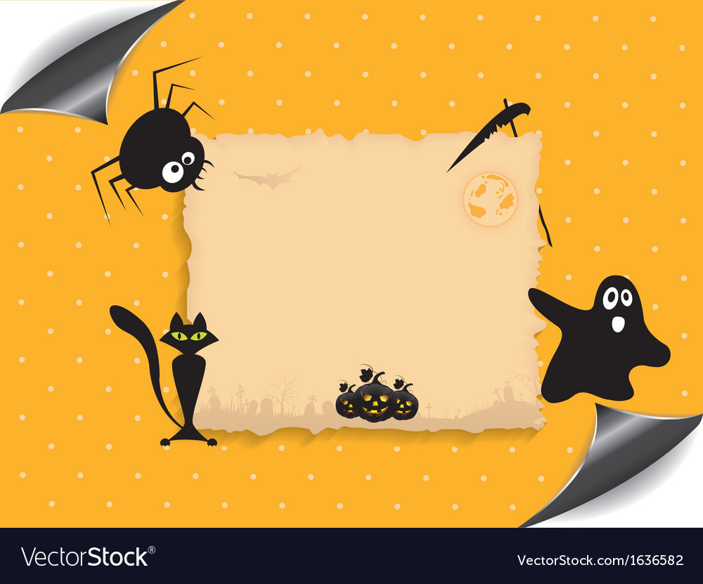 Abstract background for halloween vector | Price: 1 Credit (USD $1)
