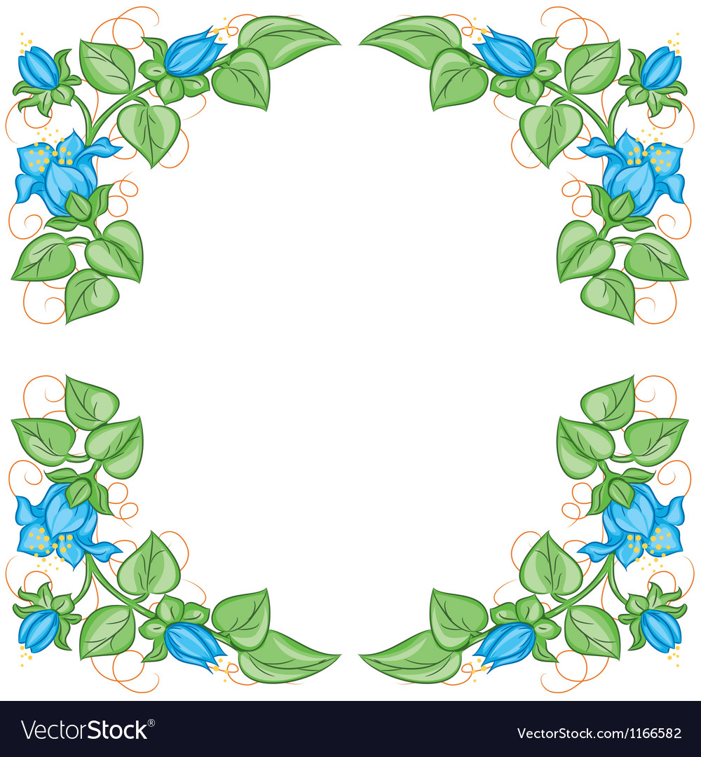 Floral decoration element vector | Price: 1 Credit (USD $1)
