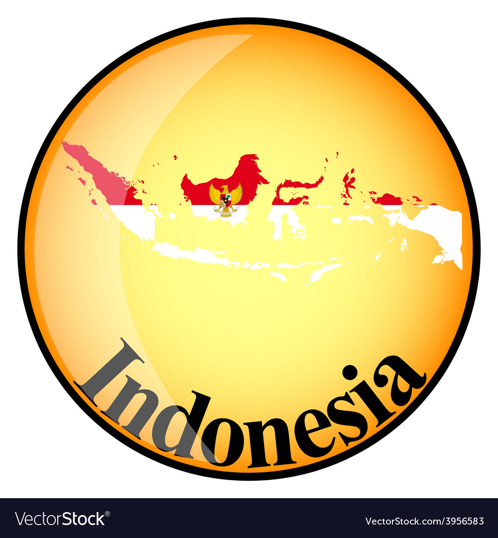 Button indonesia vector | Price: 1 Credit (USD $1)
